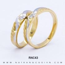 Mua Nhẫn Cưới Vàng RNC43 tại Anh Phương Jewelry
