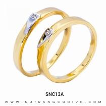 Mua Nhẫn Cưới Vàng SNC13A tại Anh Phương Jewelry