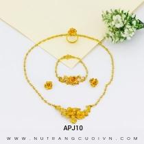 Mua BỘ TRANG SỨC CƯỚI APJ10 tại Anh Phương Jewelry