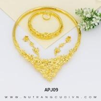 Mua BỘ TRANG SỨC CƯỚI APJ09 tại Anh Phương Jewelry