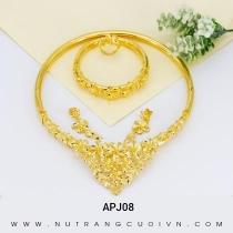 Mua BỘ TRANG SỨC CƯỚI APJ08 tại Anh Phương Jewelry