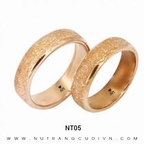 Mua Nhẫn Cưới Vàng Hồng NT05 tại Anh Phương Jewelry