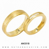 Mua Nhẫn Cưới Vàng ANC01B tại Anh Phương Jewelry