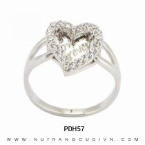 Mua Nhẫn Kiểu Nữ PDH57 tại Anh Phương Jewelry