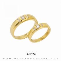 Mua Nhẫn Cưới Vàng ANC74 tại Anh Phương Jewelry