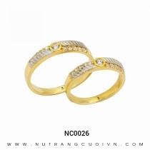 Mua Nhẫn Cưới Hai Màu NC0026 tại Anh Phương Jewelry