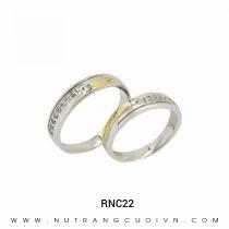 Mua Nhẫn Cưới Hai Màu RNC22 tại Anh Phương Jewelry