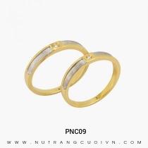 Mua Nhẫn Cưới Hai Màu PNC09 tại Anh Phương Jewelry