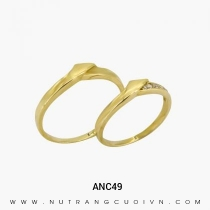 Mua Nhẫn Cưới Vàng ANC49 tại Anh Phương Jewelry