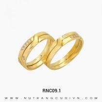 Mua Nhẫn Cưới Vàng RNC09.1 tại Anh Phương Jewelry