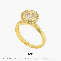 Mua Nhẫn Kiểu Nữ N91 tại Anh Phương Jewelry