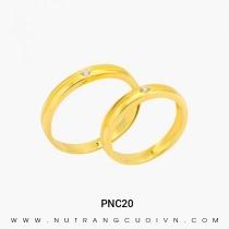 Mua Nhẫn Cưới Vàng PNC20 tại Anh Phương Jewelry