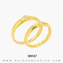 Mua Nhẫn Cưới Vàng QNC67 tại Anh Phương Jewelry