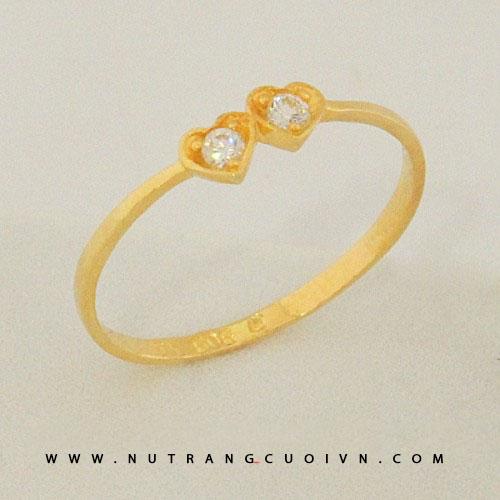 Nhẫn đính hôn - Nhẫn kiểu KDN00713