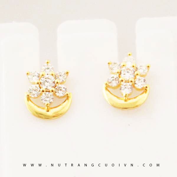 Bông tai vàng đẹp và thời trang