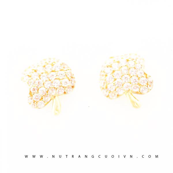 Bông tai vàng BTN28