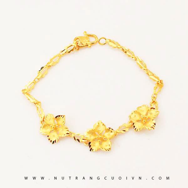 Lắc tay vàng 24K HDT10