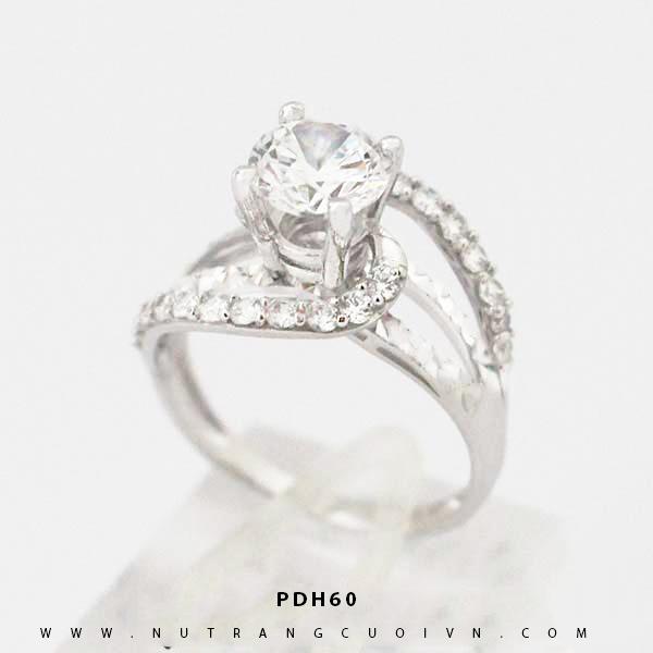 Nhẫn đính hôn PDH60