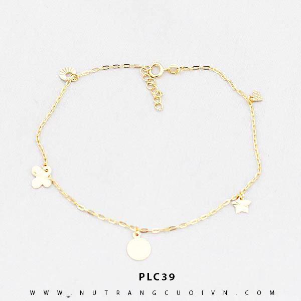 Lắc chân vàng đẹp PLC39