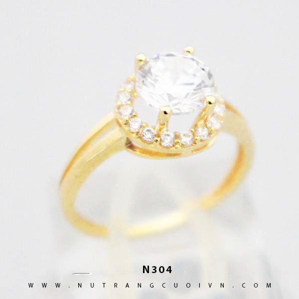 Nhẫn đính hôn N304