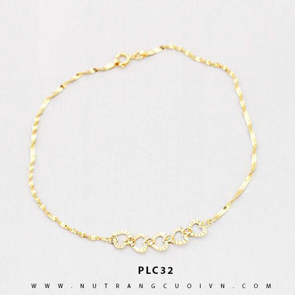 Lắc chân vàng đẹp PLC32