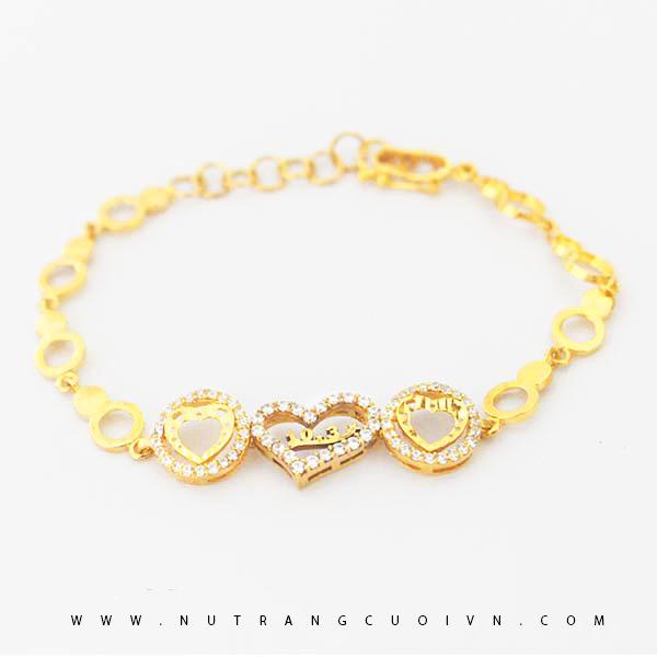 Lắc tay vàng 18K L03