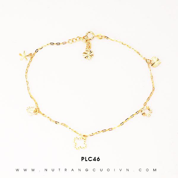 Lắc chân vàng đẹp PLC46