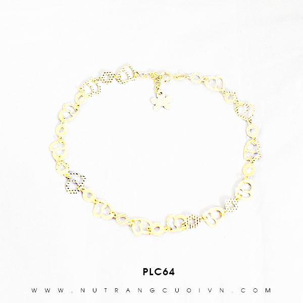 Lắc chân vàng đẹp PLC64