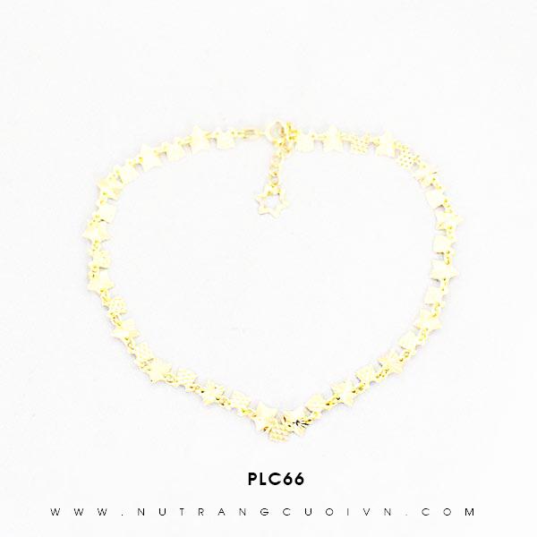 Lắc chân vàng đẹp PLC66