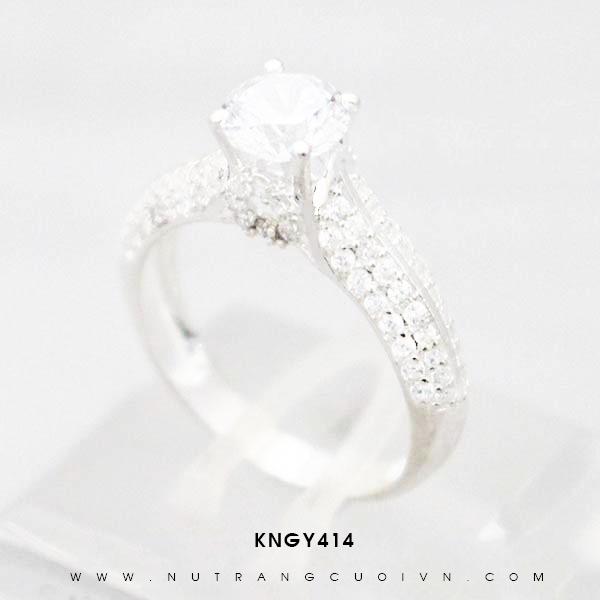 Nhẫn bạc KNGY414