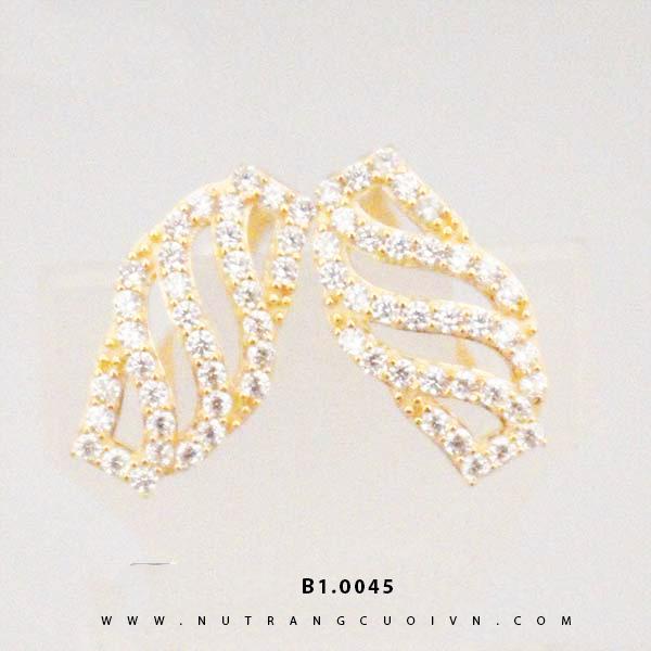Bông tai vàng B1.0045