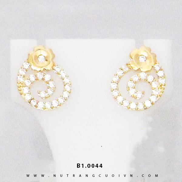 Bông tai vàng B1.0044