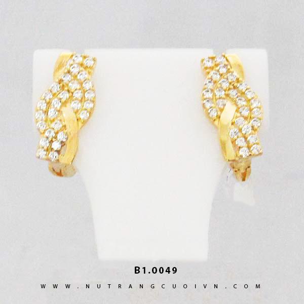 Bông tai vàng B1.0049