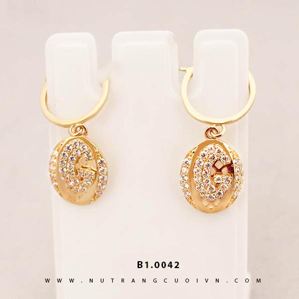 Bông tai vàng B1.0042