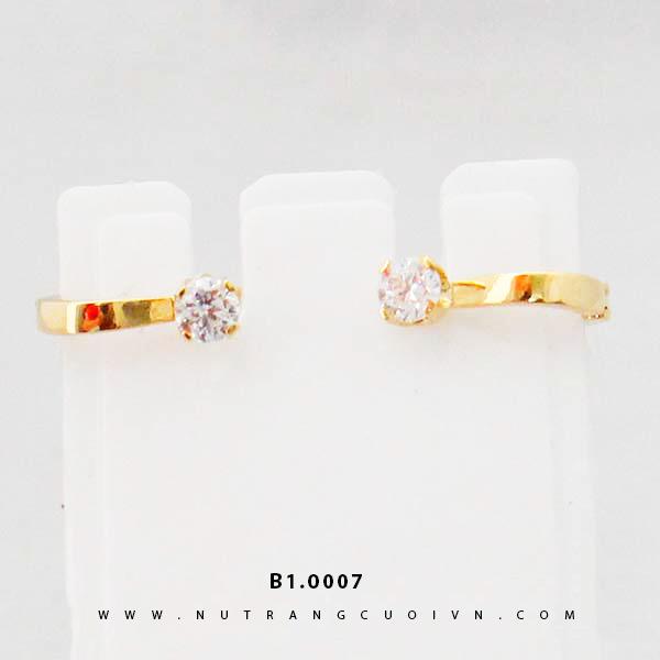 Bông tai vàng B1.0007
