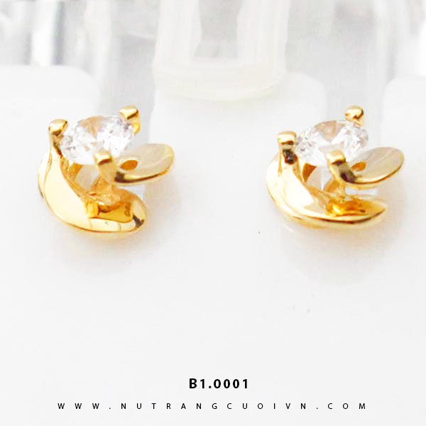 Bông tai vàng B1.0001