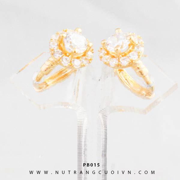 Bông tai vàng PB015