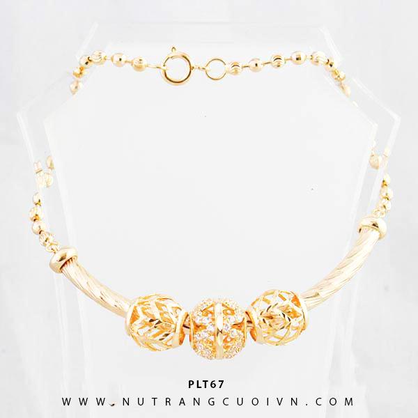 Lắc tay vàng PLT67