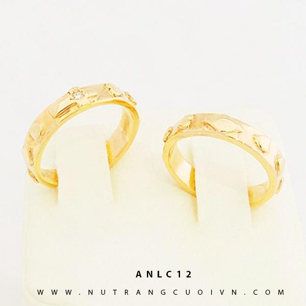 NHẪN CƯỚI ĐẸP ANLC12