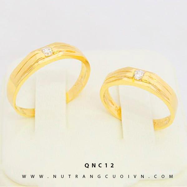 NHẪN CƯỚI ĐẸP QNC12