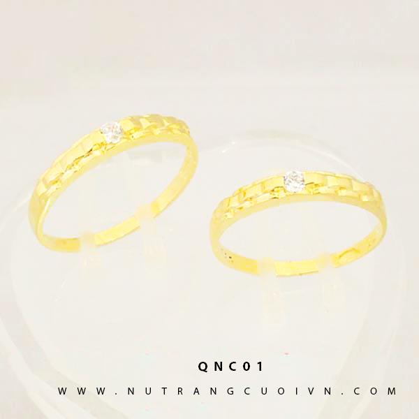 NHẪN CƯỚI ĐẸP QNC01