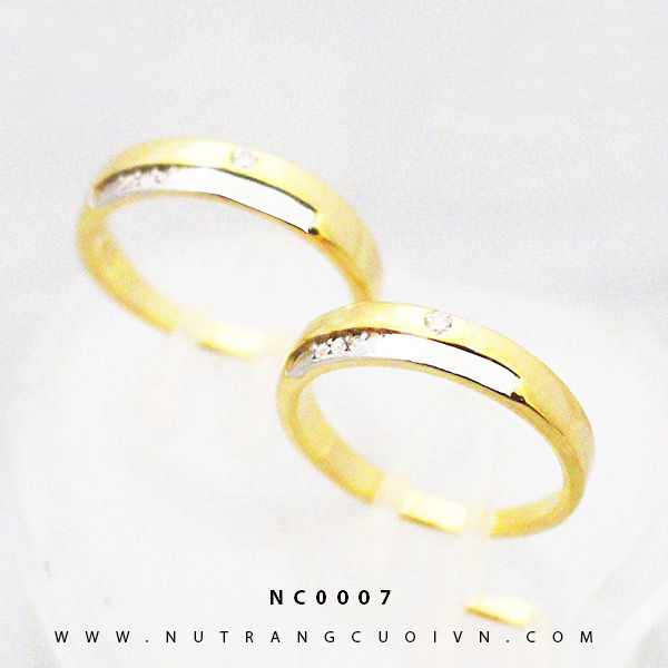 Nhẫn cưới đẹp NC0007