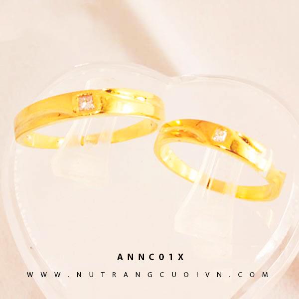 NHẪN CƯỚI ANNC01X