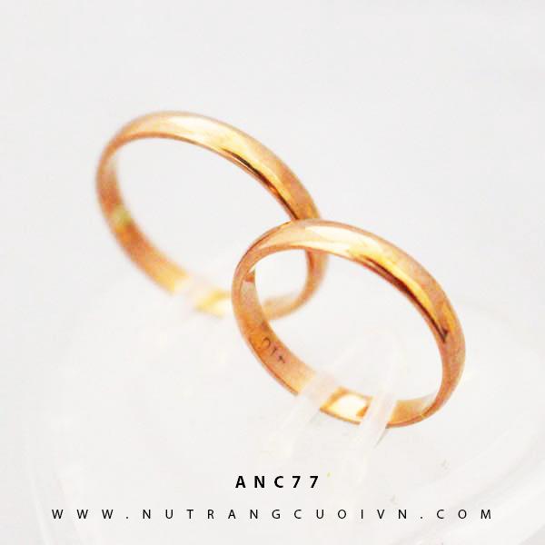 Nhẫn cưới đẹp ANC77