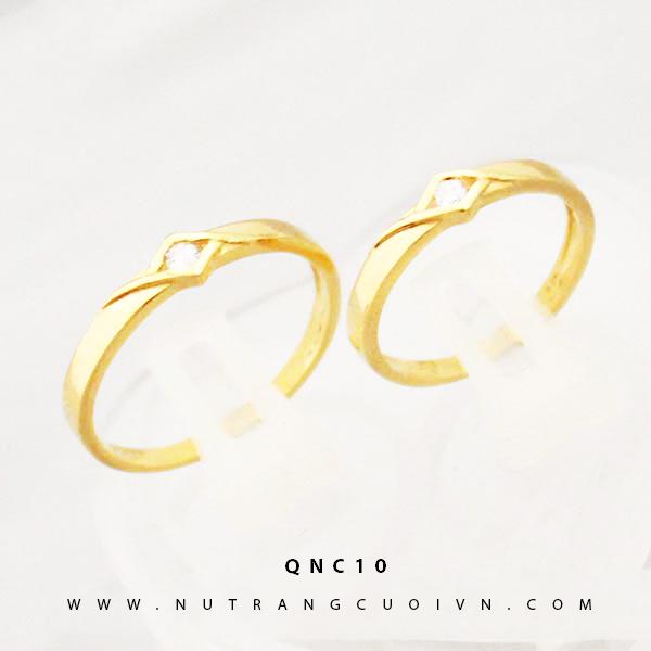 NHẪN CƯỚI ĐẸP QNC10