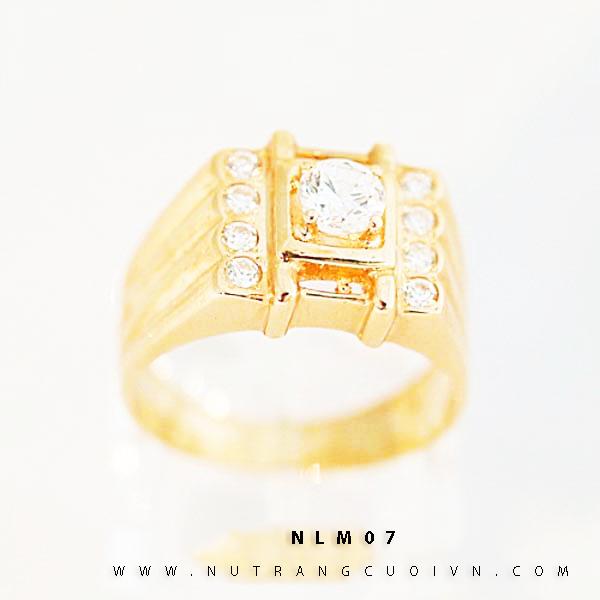 NHẪN KIỂU NAM 18K NLM07