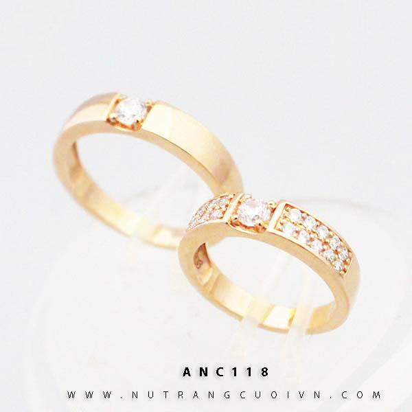 Nhẫn cưới ANC118
