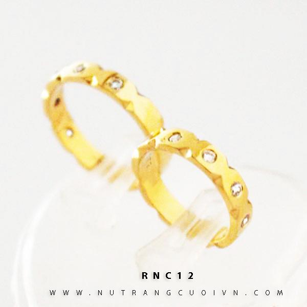 NHẪN CƯỚI ĐẸP RNC12