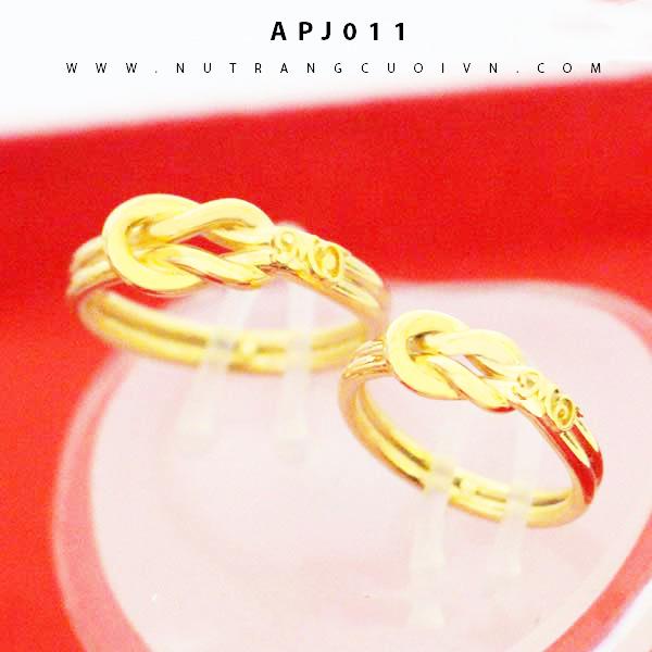 Nhẫn cưới vô cực APJ011