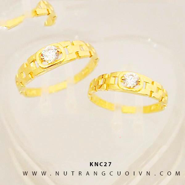 NHẪN CƯỚI KNC27